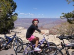 Biking the rim