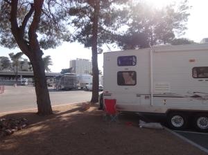Vegas camping